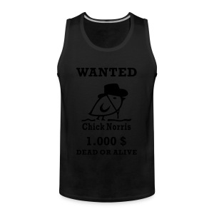 TWEETLERCOOLS - WANTED - Männer Premium Tank Top