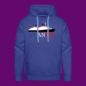 PAQUEBOT FRANCE BBR - Sweat-shirt à capuche Premium pour hommes