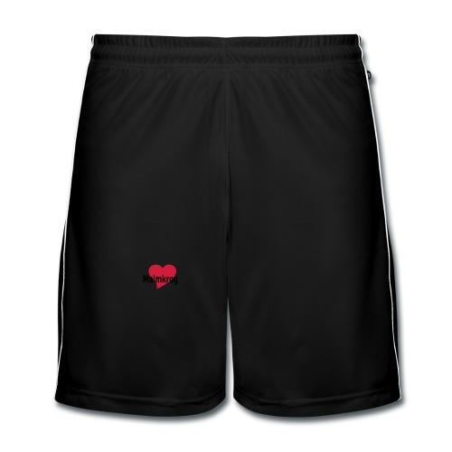 Damen-Shirt Ein Herz für Malmkrog - Männer Fußball-Shorts