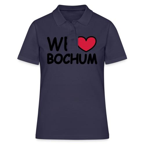 WE love Bochum - Shirt klassisch - Frauen Polo Shirt