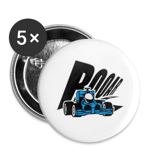 Formel 1 ROOAR - Buttons klein 25 mm