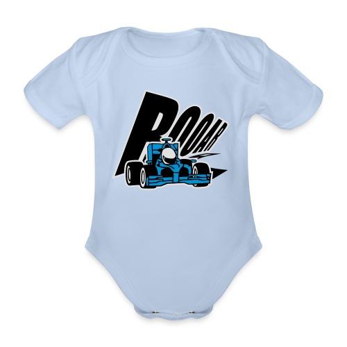 Formel 1 ROOAR - Baby Bio-Kurzarm-Body