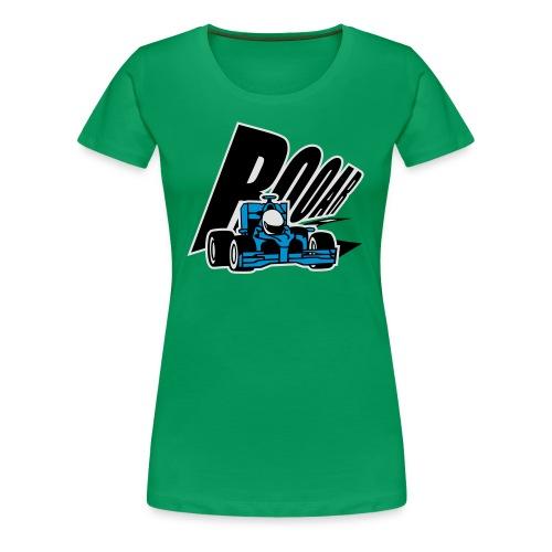 Formel 1 ROOAR - Frauen Premium T-Shirt