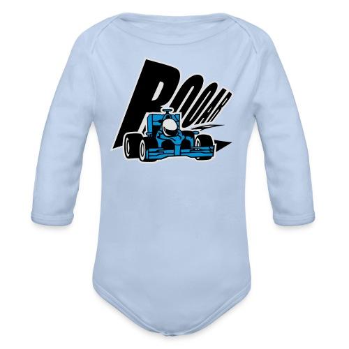 Formel 1 ROOAR - Baby Bio-Langarm-Body