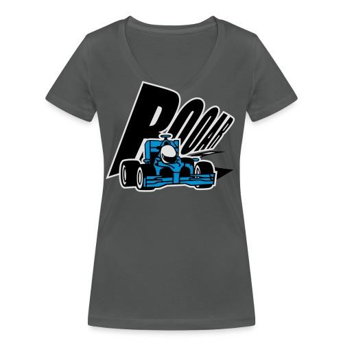 Formel 1 ROOAR - Frauen Bio-T-Shirt mit V-Ausschnitt von Stanley & Stella