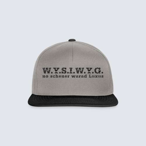 W.Y.S.I.W.Y.G. - Snapback Cap