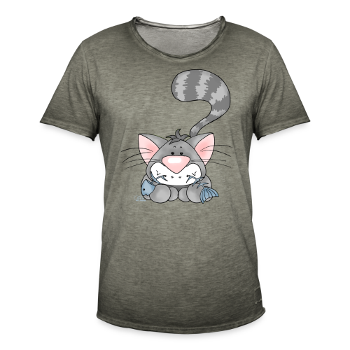 KinderShirt Mampfmietz - Männer Vintage T-Shirt