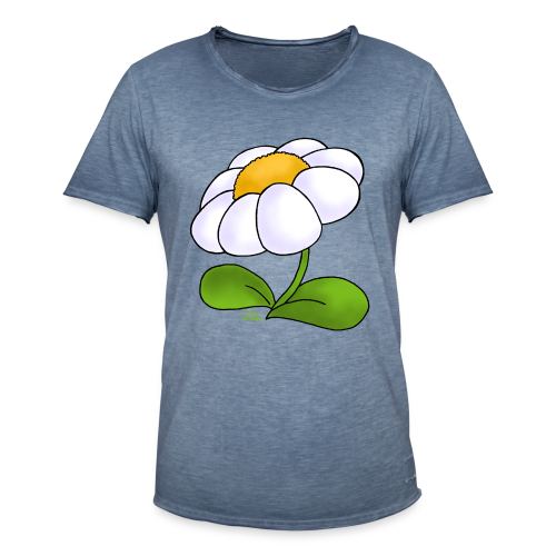 KinderShirt Blümschn - Männer Vintage T-Shirt