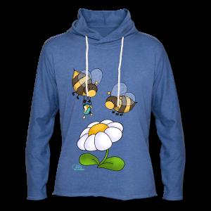 KinderShirt Hummelchen und Pummelchen - Leichtes Kapuzensweatshirt Unisex
