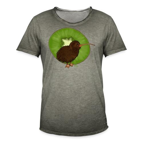 KinderShirt Kiwi² - Männer Vintage T-Shirt