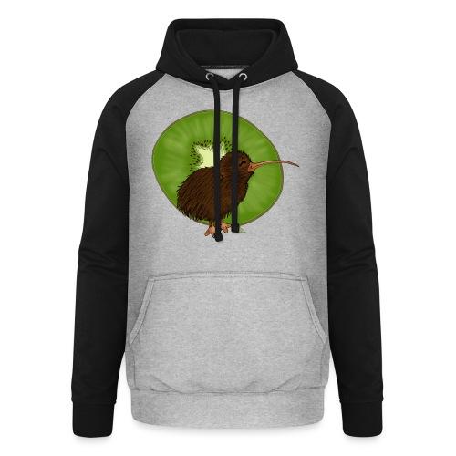 KinderShirt Kiwi² - Unisex Baseball Hoodie