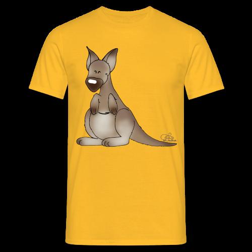 KinderShirt Kicherndes Känguruh - Männer T-Shirt