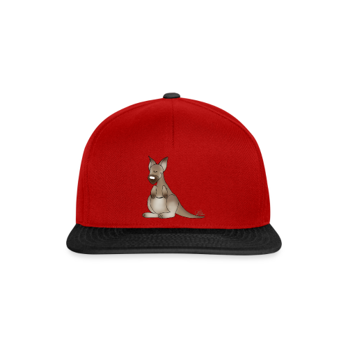 KinderShirt Kicherndes Känguruh - Snapback Cap