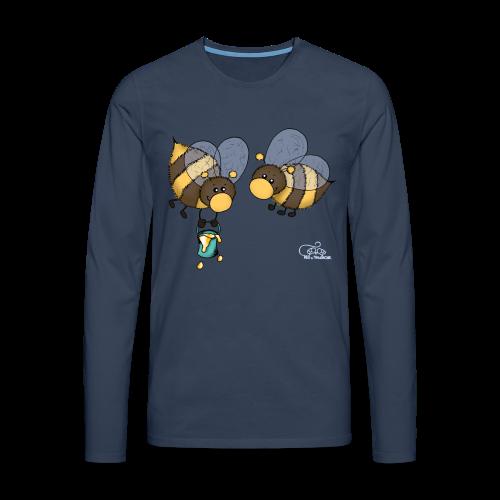 KinderShirt Hummelchen und Pummelchen - Männer Premium Langarmshirt