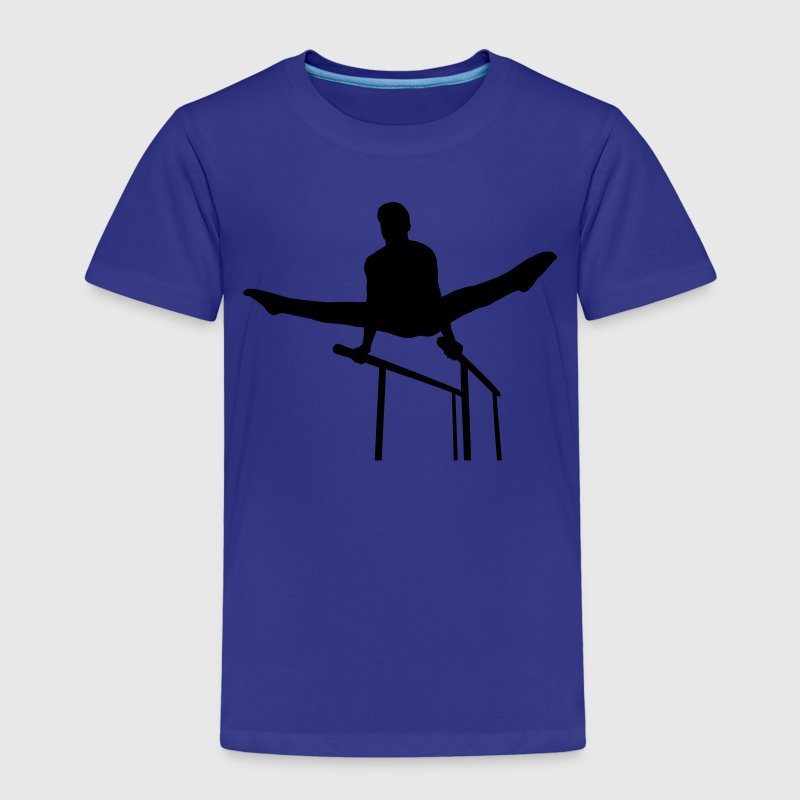 Gymnastics guy Shirts - Kinder Premium T-Shirt