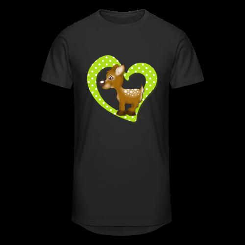 TeenieShirt Kira Kitzi Äpfelchen - Männer Urban Longshirt