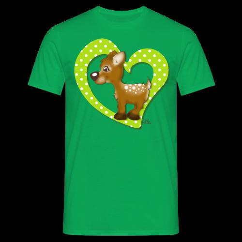 TeenieShirt Kira Kitzi Äpfelchen - Männer T-Shirt