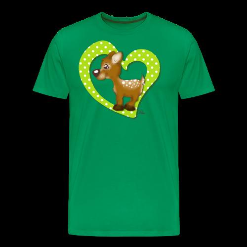 TeenieShirt Kira Kitzi Äpfelchen - Männer Premium T-Shirt