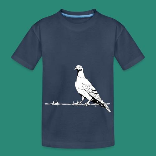 Friedenstaube  - Teenager Premium Bio T-Shirt
