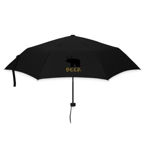 Bear oder Deer = Beer - Regenschirm (klein)