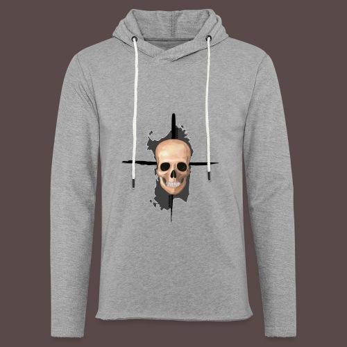 Sardegna, Pirate skull (donna) - Felpa con cappuccio leggera unisex