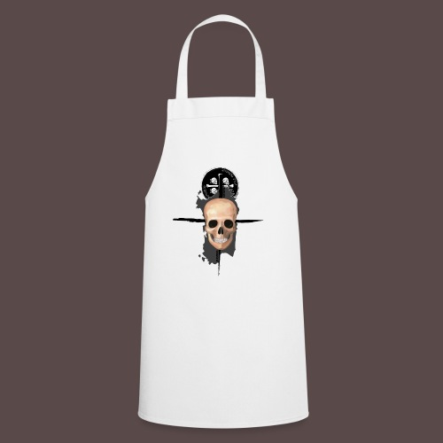 Sardegna, Pirate skull (donna) - Grembiule da cucina
