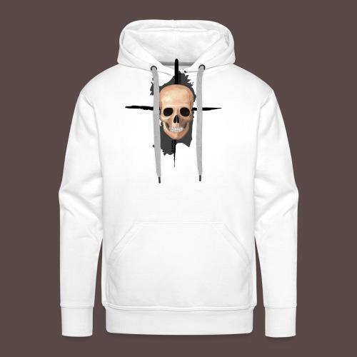 Sardegna, Pirate skull (donna) - Felpa con cappuccio premium da uomo