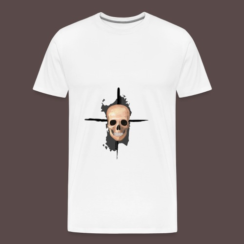 Sardegna, Pirate skull (donna) - Maglietta Premium da uomo