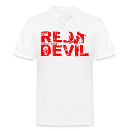 BELGIAN-RED-DEVIL  - Polo Homme
