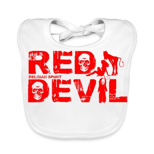 BELGIAN-RED-DEVIL  - Bavoir bio Bébé
