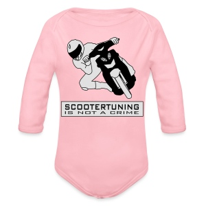 Scootertuning is not a crime II - Baby Bio-Langarm-Body