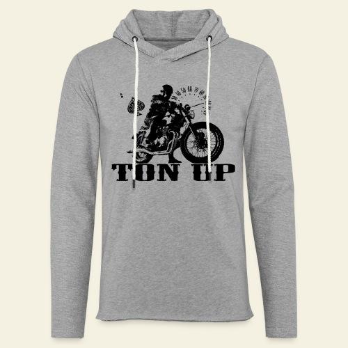 Ton Up black  - Let sweatshirt med hætte, unisex