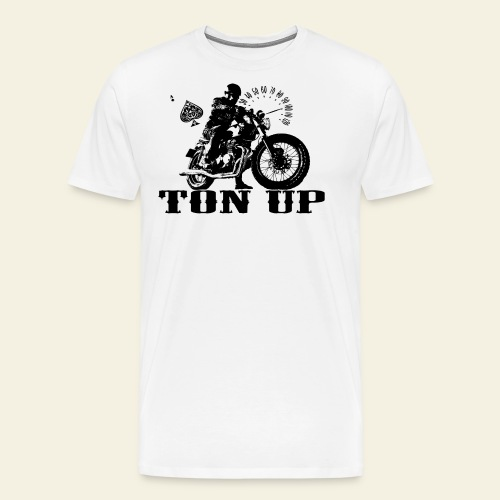 Ton Up black  - Herre premium T-shirt