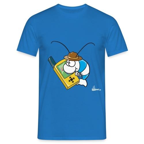 Geocaching Garnele - Männer T-Shirt