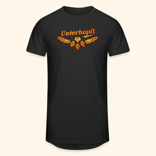 Unterhopft, distressed - Männer Urban Longshirt