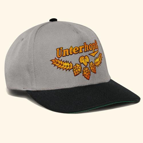 Unterhopft, distressed - Snapback Cap