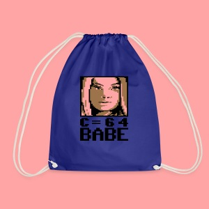 C64 Babe Candi - Drawstring Bag