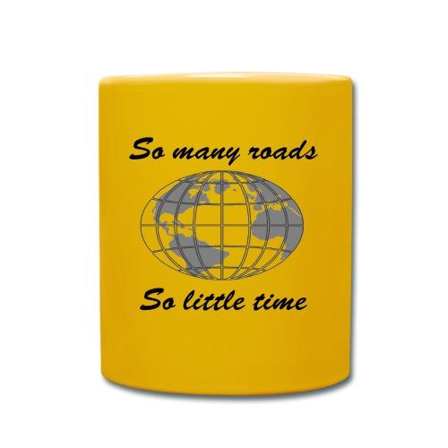 So many roads, so little time - Mug uni