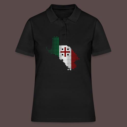Sardegna, Tricolore Sardo (uomo) - Women's Polo Shirt