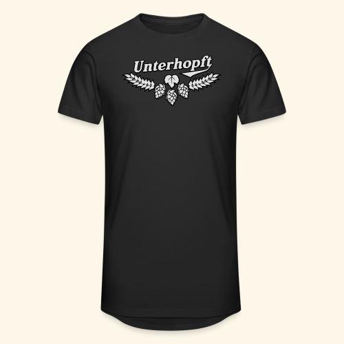 Unterhopft, Outline, Kerlie - Männer Urban Longshirt