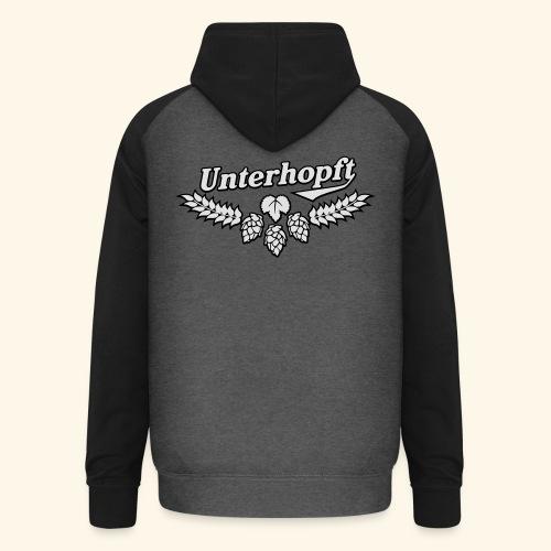 Unterhopft, Outline, Kerlie - Unisex Baseball Hoodie