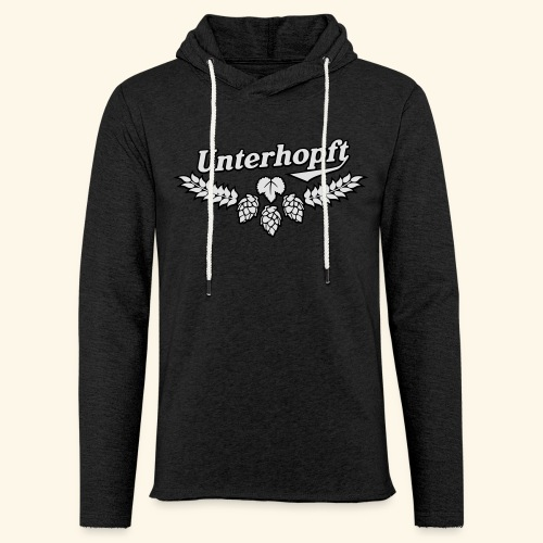 Unterhopft, Outline, Kerlie - Leichtes Kapuzensweatshirt Unisex