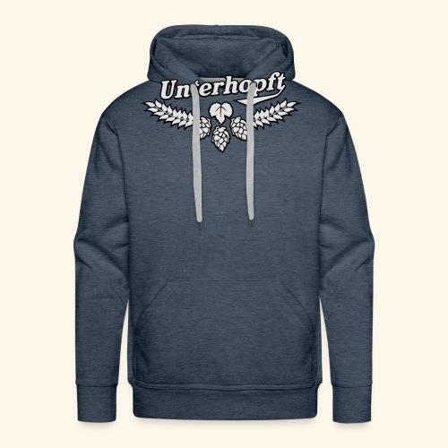 Unterhopft, Outline, Kerlie - Männer Premium Hoodie