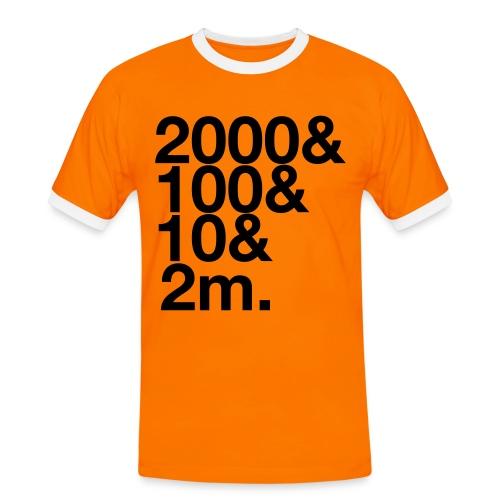 Henley 2112m - Men's Ringer Shirt