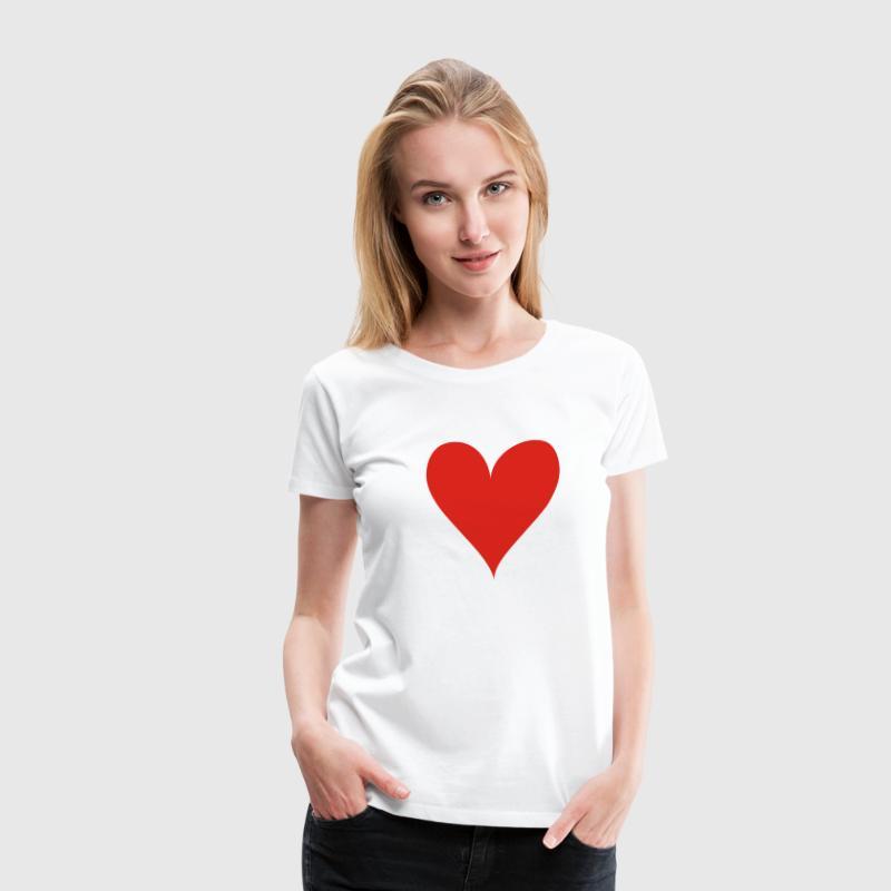 Weiß Hot Girlie - Frauen Premium T-Shirt
