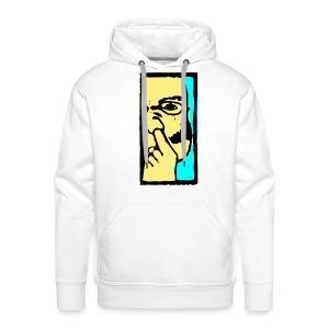 Nosepicker 3 - Mannen Premium hoodie
