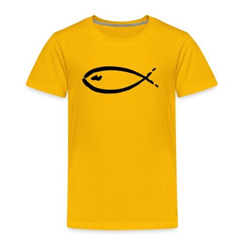 FISH-yellow|red (Kids) - Kinder Premium T-Shirt