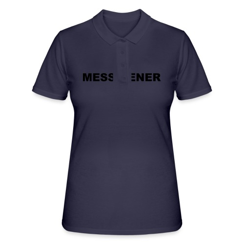 MESSDIENER - blue|white (Boys) - Frauen Polo Shirt