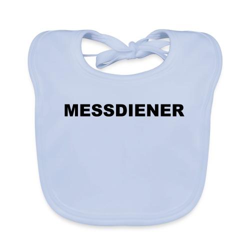 MESSDIENER - blue|white (Boys) - Baby Bio-Lätzchen
