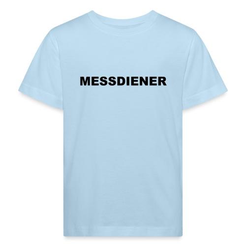 MESSDIENER - blue|white (Boys) - Kinder Bio-T-Shirt